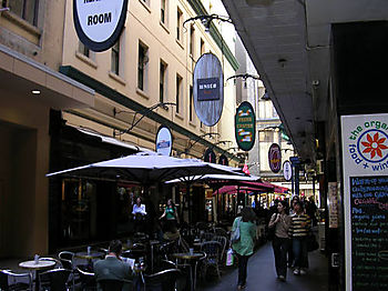 a. Alley off Flinders St
